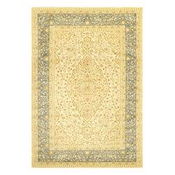 nuLOOM - nuLOOM Persian Oriental Style Rug, Slate, 5.3'x7.7' - Material: 100% Polypropylene