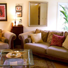Traditional Living Room by Belle Maison Home Staging & Redesign