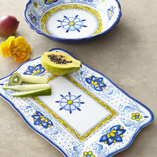 Traditional Serving And Salad Bowls by Horchow