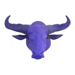 Dreams Inc. - Hunting Trophy Door Light, Blue Buffalo - Never fumble in the dark again with these Hunting Trophy Door Lights! These guardians of the night can also keep your keys easily accessible as you hang them on an antler, horn or husk. Illuminate any space with these clever creatures without having to turn a switch - they have motion sensors that will turn off automatically after 20 seconds.