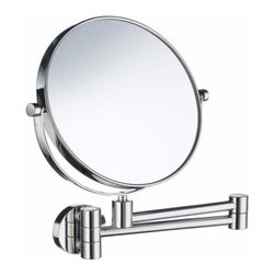 Smedbo - Smedbo Shave/Make Up Mirror, 15 Inch, Polished Chrome - Smedbo Shave/Make Up Mirror, 15 Inch, Polished Chrome