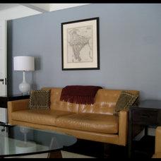 Contemporary Living Room by Desi Interior Design