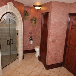 Medievel Master Bath, Medina, OH #1 - In this bathroom renovation Sonoma Reserve Tile Collection was used.