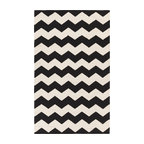 Artistic Weavers - Artistic Weavers Vogue Collins (Black, White) 9' x 12' Rug - This Hand Woven rug would make a great addition to any room in the house. The plush feel and durability of this rug will make it a must for your home. Free Shipping - Quick Delivery - Satisfaction Guaranteed