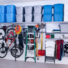 Wall Shelves by Monkey Bar Garage Storage