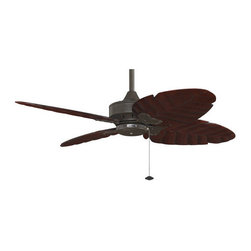 "Fanimation - Fanimation Windpointe 52"" 4 Blade Ceiling Fan - Blades Included - Included Components:"