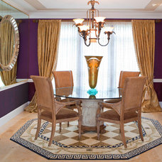 Traditional Dining Room by Décoria Interior Designs