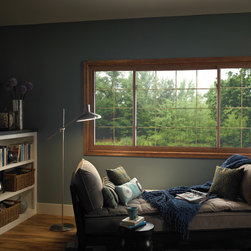 Sliding Window - Our Premium replacement sliding windows are available in two- and three-lite configurations. Three-lite configurations available in 1/4-1/2-1/4 lite and 1/3-1/3-1/3 equal lite.