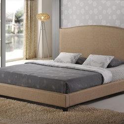 Aisling Fabric King Platform Bed -