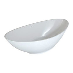 Hydro Systems - Hydro Systems Logan 7238 Freestanding Tub - Hydro Systems free-standing tubs offer versatility and function into your bathroom design. Whether the centerpiece of the bath, offset from a wall or a partial build-in, the stand alone tub allows a completely different and distinguished element. The METRO COLLECTION is about more than just offering the best designs in both form and function. It is about utilizing the finest materials to achieve our ultimate goal: exceeding your expectations. It's creating the best design elements in the bath while utilizing the best materials available to achieve this goal. The culmination of this goal required us to create a material that could give us unlimited design creativity with superior strength, durability, stain resistance and a non-porous finish. Featuring luxurious advancements in bathtub technology, this freestanding tub built for two is also made from HydroLuxe, a blend of organic materials and engineered composites. This bathtub features Hydro Systems' 10 Year Warranty, it's components are built locally in North America, and manufactured using solar power. Please note, custom orders may not be returned. More information regarding the return policy of your custom-built Hydro Systems product is available here. Inspired by Chicago's Cloud Gate, The Logan imparts the fluid shape of the sculpture in its curves. The seamless, refined surface and concaved form achieve the effect of a tub that cradles you into comfort. Taking a cue from Chicago's monumental mirrored sculpture, the Logan is a stunning centerpiece for personal reflection. Features Made from HydroLuxe, a blend of organic materials and engineered composites Matte Finish is standard. Includes Waste and Overflow Components built in North America Hydro Systems' 10 Year Warranty This model is freestanding Spec Sheet Note: This item usually ships in 28 business days from the manufacturer. Please allow an additional week for shipping.
