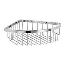 WS Bath Collections - Shower Basket in Polished Chrome - Modern/contemporary design. Designer high end quality bathroom shower basket. Warranty: One year. Made from solid brass base. Made in Italy. No assembly required. 11.7 in. L x 9.4 in. W x 2.8 in. H (2 lbs.). Spec SheetUnique and fine bath accessories and complements, that provide inspirational solutions for every decor.