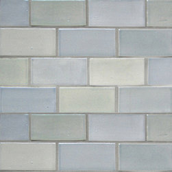 "2""x4"" Subway Tile in Light Grey - 2""x4"" Subway Tile - 815W Light Grey"