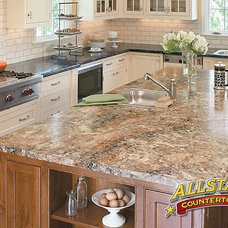 Contemporary Kitchen Islands And Kitchen Carts by ALLSTAR Countertops