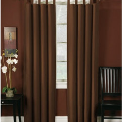 Arlee Home Fashions - Arlee Home Fashions Ridgedale Duck Blackout Panel Pair Tab Top - 29-13006NAT - Shop for Curtains and Drapes from Hayneedle.com! About Arlee Home FashionsArlee Home Fashions Inc. manufactures and markets household textiles like decorative pillows chair pads floor cushions curtains table linens and pet beds. The company was incorporated in 1976 and is based in New York New York.