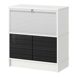 IKEA of Sweden/Eva Lilja Löwenhielm - EFFEKTIV Storage combination - Storage combination, white, high gloss black