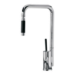 Maestrobath Bend Snake Chrome Contemporary Faucet This