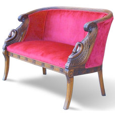 Traditional Love Seats by artlinefurniture.com