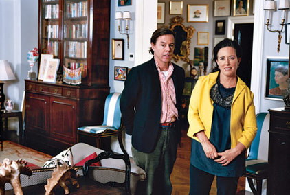 Traditional  Kate & Andy Spade's New York Apartment