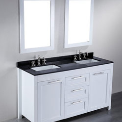 SB-267 Double Vanity with Mirrors