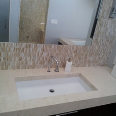 Contemporary Bathroom Sinks by cappello plumbing