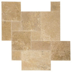 eclectic floor tiles by Travertine Mart