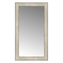 """Posters 2 Prints, LLC - 14"""" x 24"""" Libretto Antique Silver Custom Framed Mirror - 14"""" x 24"""" Custom Framed Mirror made by Posters 2 Prints. Standard glass with unrivaled selection of crafted mirror frames.  Protected with category II safety backing to keep glass fragments together should the mirror be accidentally broken.  Safe arrival guaranteed.  Made in the United States of America"""