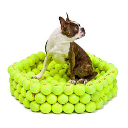 Tennis Bed - This is the ultimate dream bed for any dog who loves to play fetch.