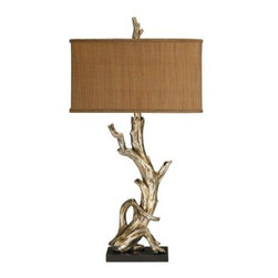 Sterling Industries 91-840 Driftwood Lamp - This lamp is more for a luxurious or glam space.