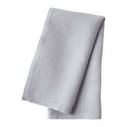 Serena & Lily - Washed Linen Napkin Chambray (Set of 4) - The softest washed linen in the palest of blues. Just the thing for some casual elegance.