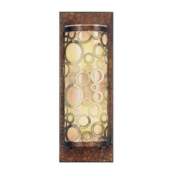 Livex Lighting - Livex Avalon Wall Sconce Palacial Bronze with Gilded Accents -8684-64 - Livex products are highly detailed and meticulously finished by some of the best craftsmen in the business