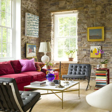 Contemporary Living Room by Bruce Norman Long Interior Design