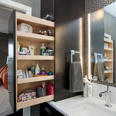 Contemporary Bathroom by College City Design Build