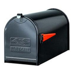 Gibraltor - TB1B BL Plate Steel Mailbox - Iron box Mailbox