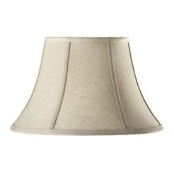 Home Decorators Collection - Home Decorators Collection Bell Small 14 in. Diameter Natural Linen Shade 133560 - Shop for Lighting & Fans at The Home Depot. Bring an air of subtle elegance to your home with our Bell Linen Lamp Shade. The classic bell shape and matte finish, available in your choice of several stylish looks, will dress up any lamp. Order yours today.