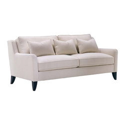 Lazar Retro Sofa - Available in numerous fabric options, this versatile sofa is both comfortable and durable.