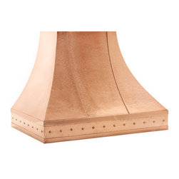 Copper Hood - Nothing defines a kitchen scheme like a fabulous vent hood. This showstopping piece is bound to become the focal point of your kitchen.
