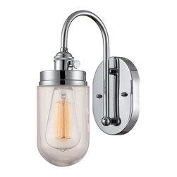 Millennium Lighting - Millennium Lighting 5309 Neo-Industrial 1 Light Wall Sconce - Lamping Technologies: