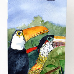 Caroline's Treasures - Bird - Toucan Michelob Ultra Koozies for Slim Cans KR9032MUK - Bird - Toucan Michelob Ultra Koozies for slim cans KR9032MUK Fits 12 oz. slim cans for Michelob Ultra, Starbucks Refreshers, Heineken Light, Bud Lite Lime 12 oz., Dry Soda, Coors, Resin, Vitaminwater Energy, and Perrier Cans. Great collapsible koozie. Great to keep track of your beverage and add a bit of flair to a gathering. These are in full color artwork and washable in the washing machine. Design will not come off.