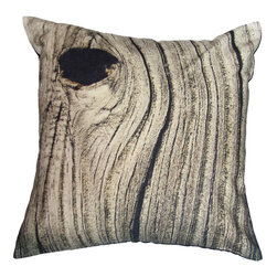 Weathered Wood Toss Cushion - I am a sucker for trees, so I adore this pillow and its photographic bark texture. It would be perfect paired with a faux fur throw, in my opinion.