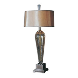 Uttermost - Uttermost 26652 Celine Table Lamp - Uttermost is one of the largest manufacturers of interior lamps, wall art, clocks, rugs and framed mirrors in the United States, attributing its success to maximizing product value through better design and sharp pricing.