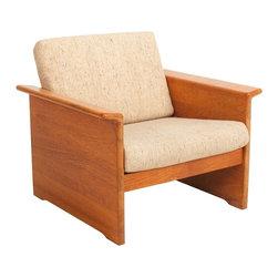Tarm Stole - OG Mobelfabrik - Consigned Mid Century Danish Modern Teak Accent Chair by Tarm Stole - • Mid Century | Danish Modern
