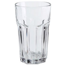 traditional cups and glassware by IKEA