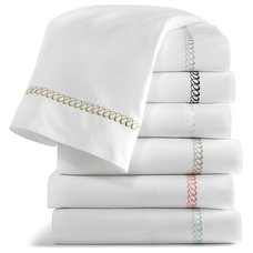 Traditional Sheet And Pillowcase Sets by Peacock Alley Design Studio