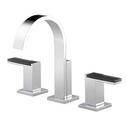 Brizo - Brizo 65380LF-PCLHP Siderna Widespread Lavatory Faucet - The Brizo 65380LF-PCLHP is a Siderna Widespread Lavatory Faucet. This widespread two handled faucet features a 3-hole installation, a 1.5 GPM flow rate, and a bright, shining Chrome finish.