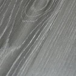 Custom Gray Floors - Metallic Glaze