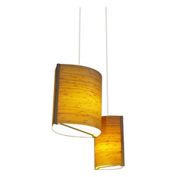 Moso Pendant Lamp, Vertical Grain, Large