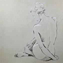 wall art - CV-Nude study II Wall Picture