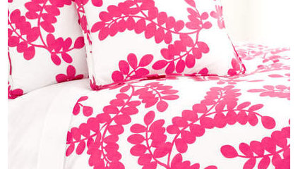 Erika Fuchsia Duvet Cover by Pine Cone Hill, Kids Bedding Sets, Bedding for Girl