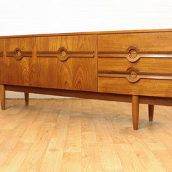 European Pieces - Beautiful and unique design Danish Inspired Credenza/Buffet/Drinks Cabinet with stunning detailing.