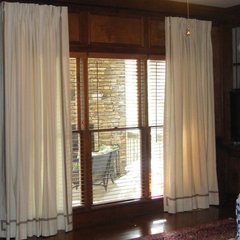 contemporary curtains by Encore Decor